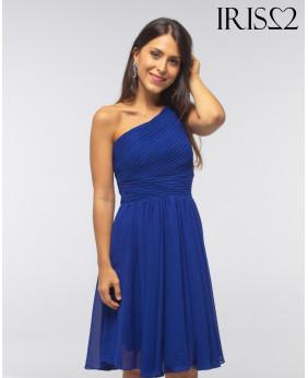 Vestido Grecia Corto  Azul
