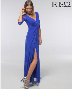 Vestido Love Azul Klein