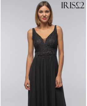 Vestido Secret Negro Largo