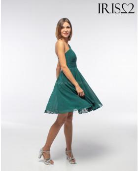 Vestido Grecia Corto Verde