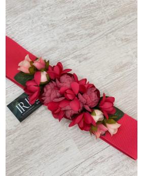 Cinturón Flower Rosa