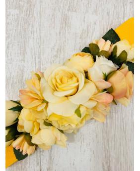 Cinturón Flower Amarillo